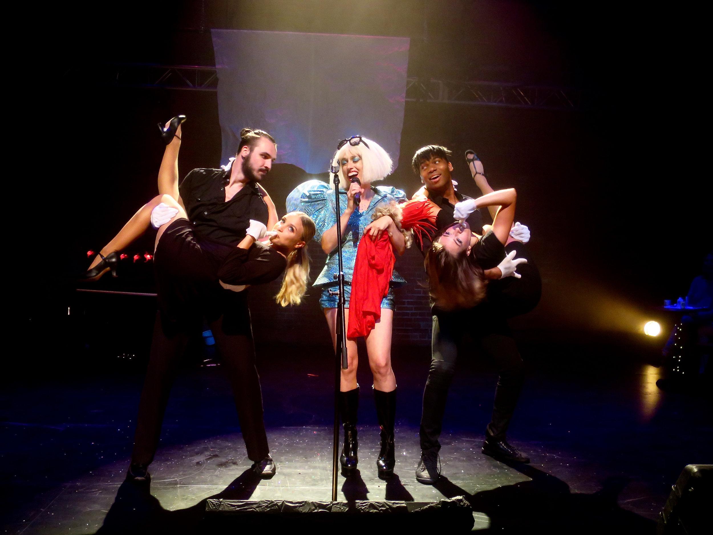 Athena in Lady Gaga: #artbirth