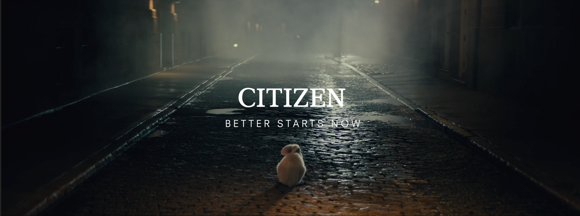 "Citizen Watch ""I'm Late"""