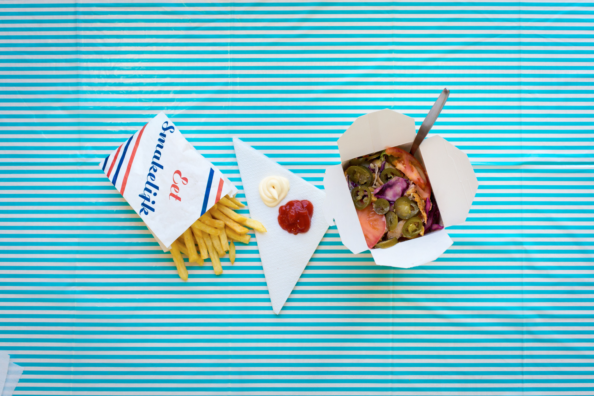 Doner Box and Friet
