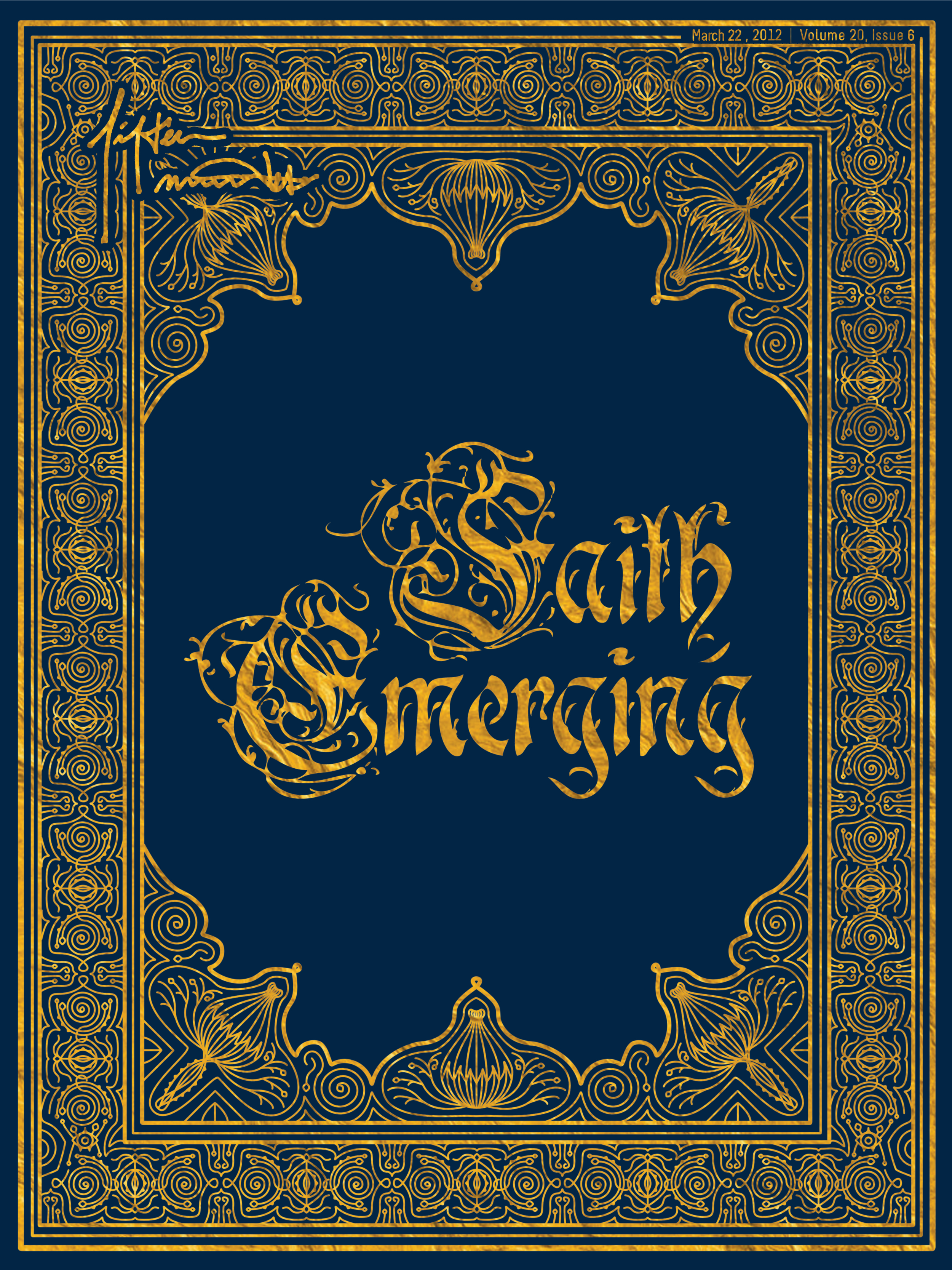 Fifteen Minutes Magazine Faith Emerging Cover