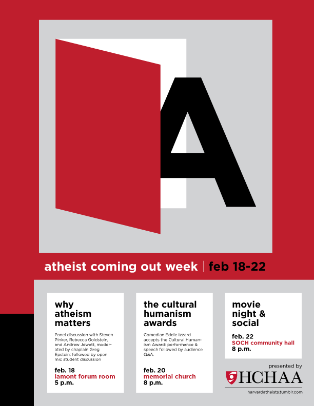 Atheist Coming Out Week Poster