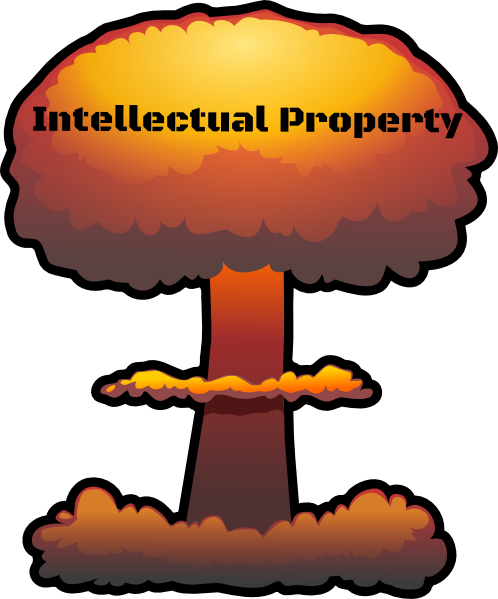 The Intellectual Property Bomb Goes Ka-Boom!