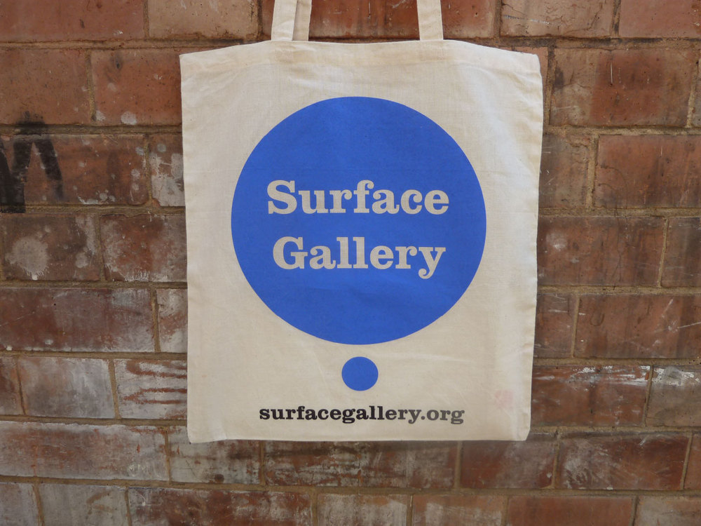 Surface Gallery canvas bag
