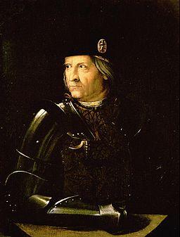 Dosso Dossi,  Portrait of Ercole I d'Este , duke of Ferrara, Galleria Estense, Modena