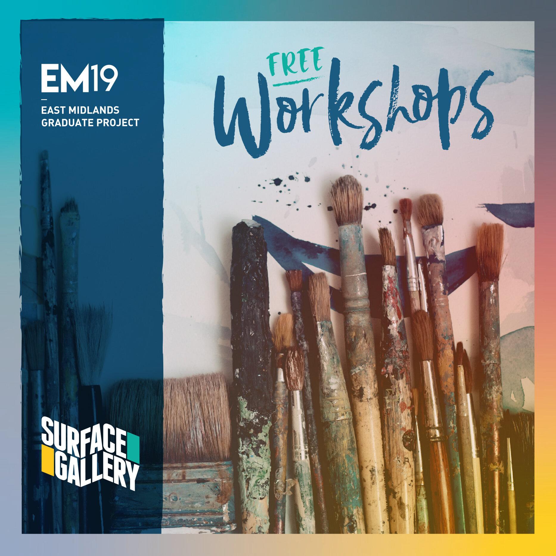 EM19 Workshops 148mm Square Stapled Booklets