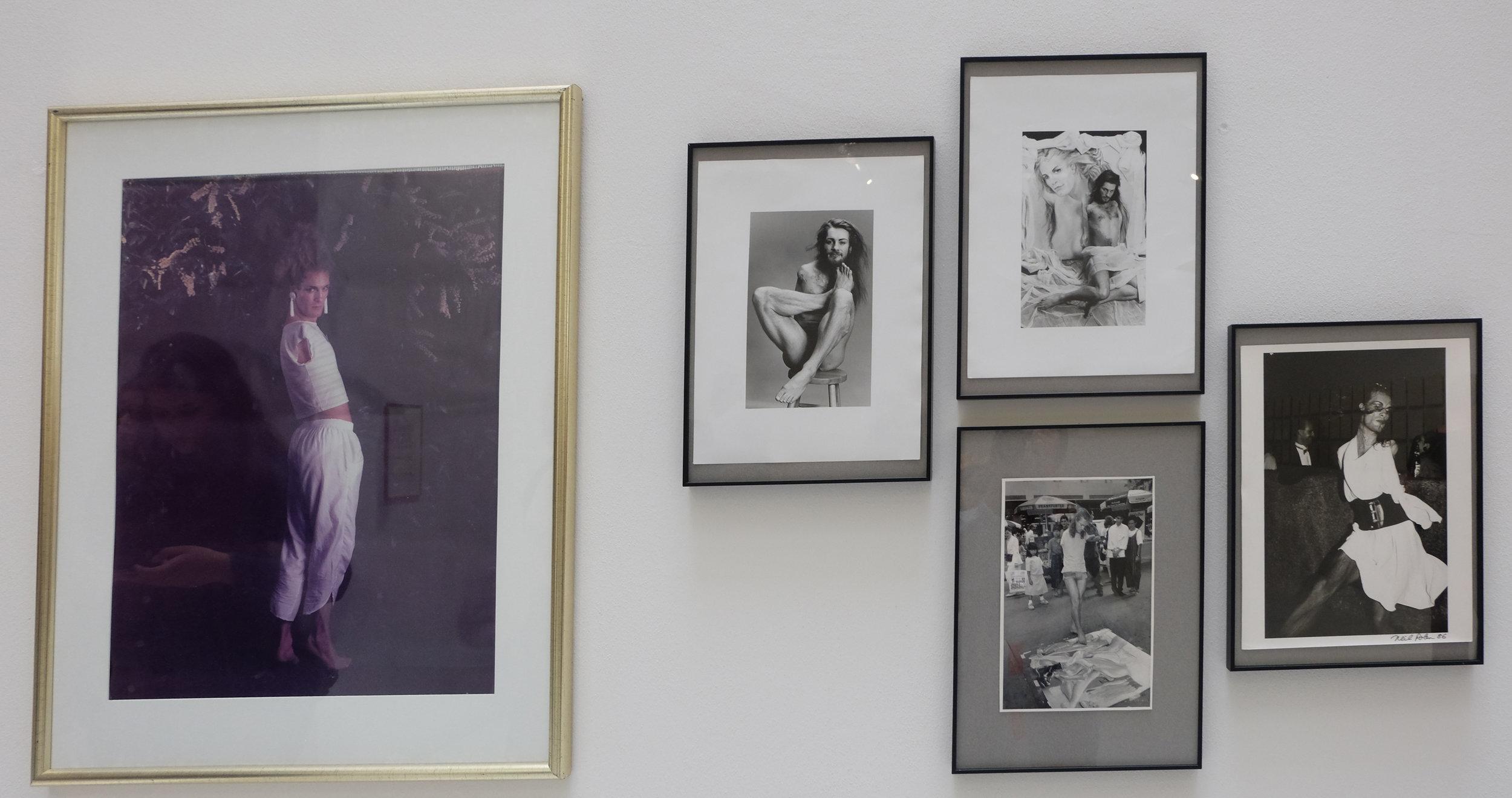 LORENZA BÖTTNER, Drawings, pastels, paintings, video, and archival materials, 1975-94.  Neue Galerie, Kassel