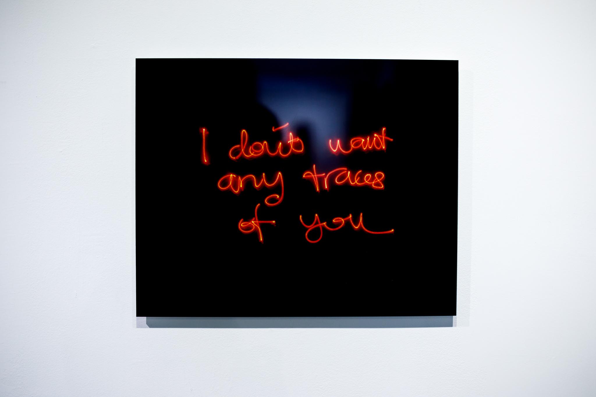Fajrina Razak, Time Does Not Heal Me I, 2018, Photographic print on acrylic, 40.64 x 50.8 cm