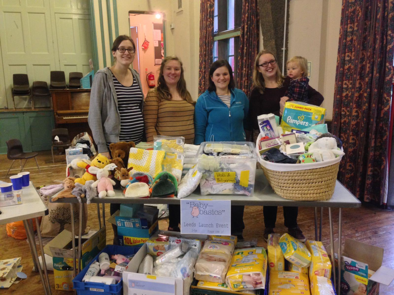 Baby Basics volunteers