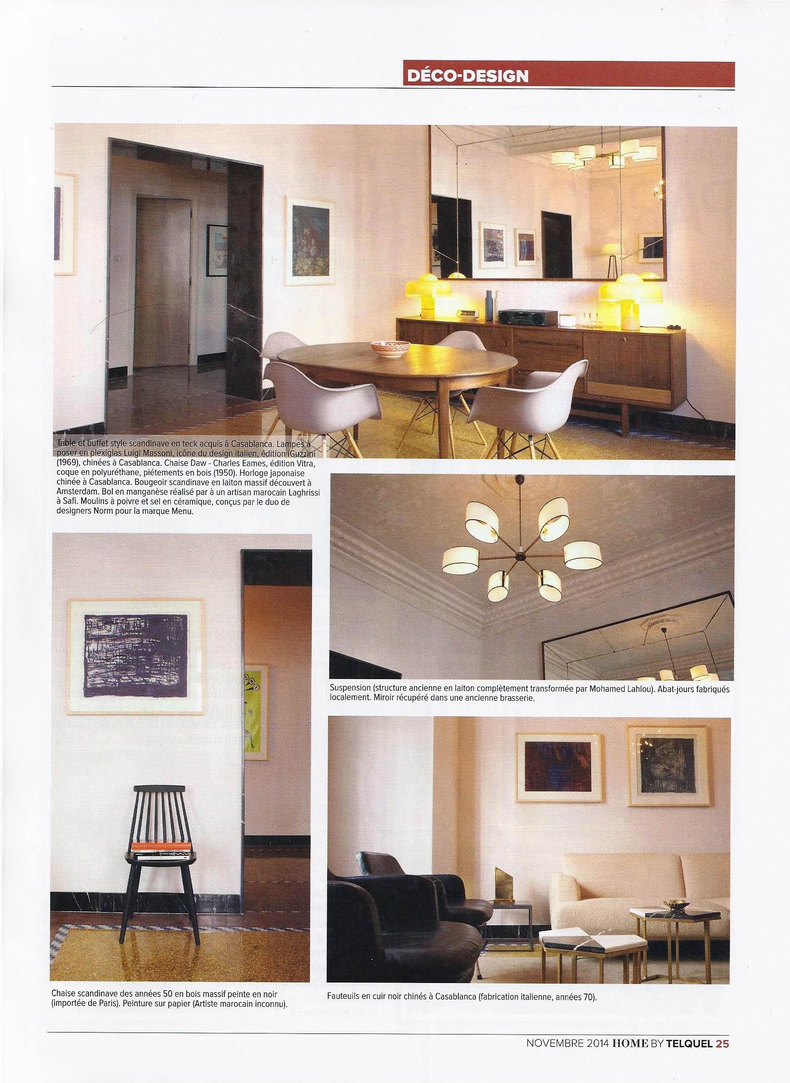 Lampe Suspension Papier Design presse — mohamed lahlou kitane / mlk / architecture et design