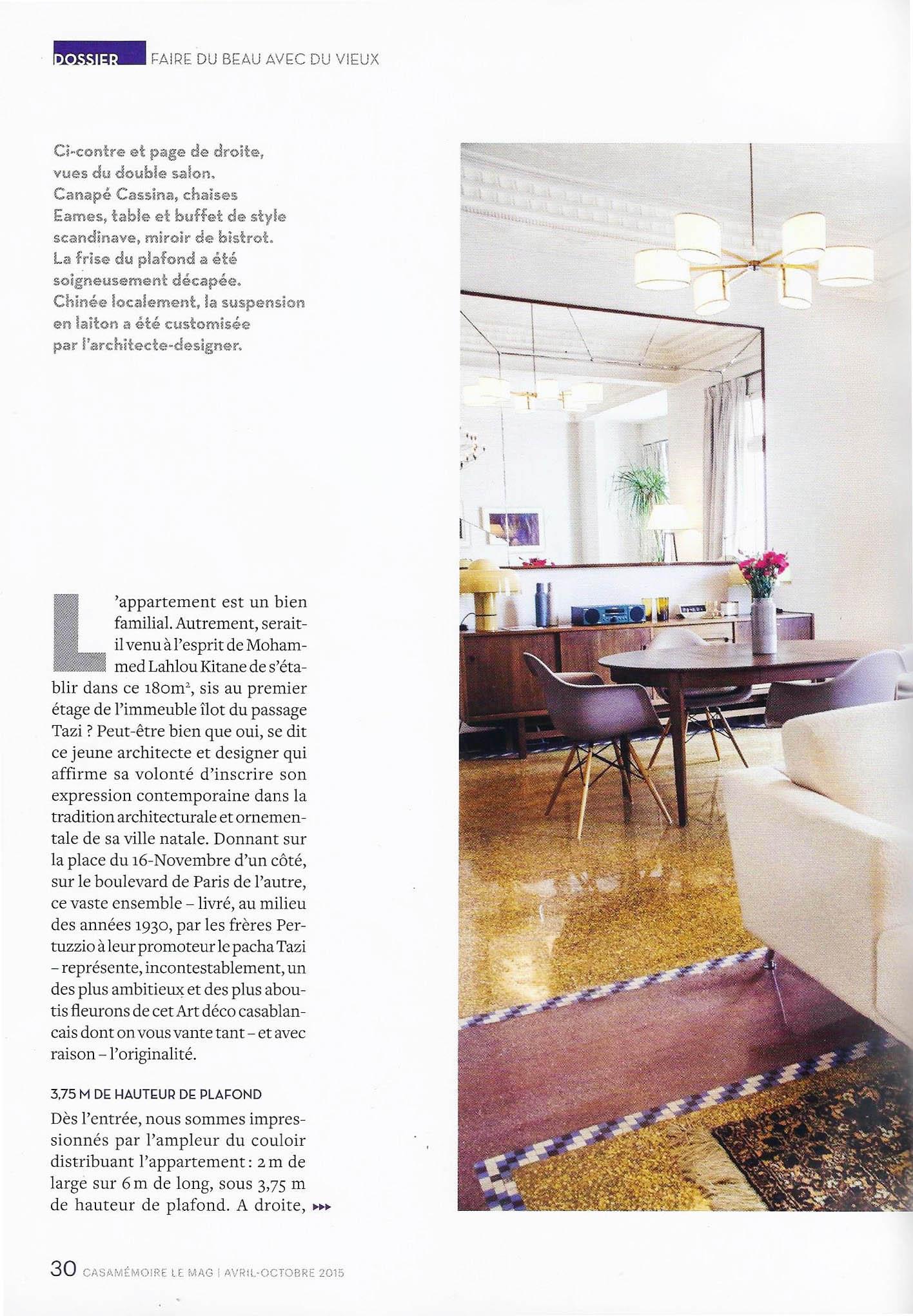 Suspension Hauteur Sous Plafond presse — mohamed lahlou kitane / mlk / architecture et design