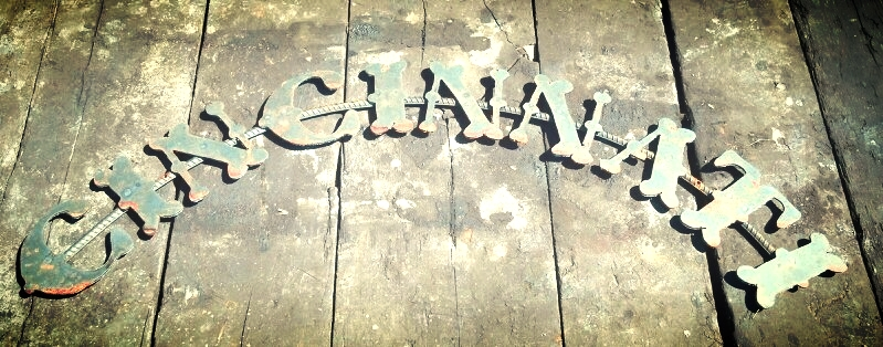We can create custom letter on rebar for any occasion such as last names, favorite city or any saying of your choice.