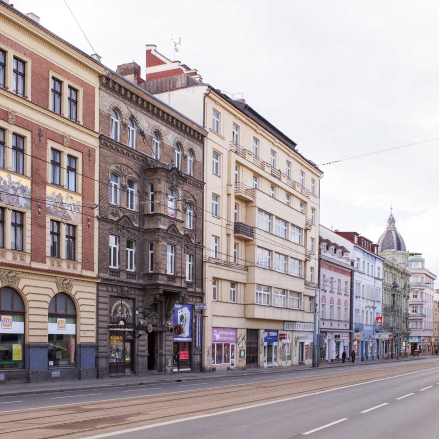 Scházíme se v centru Plzně na ulici Klatovská 28.