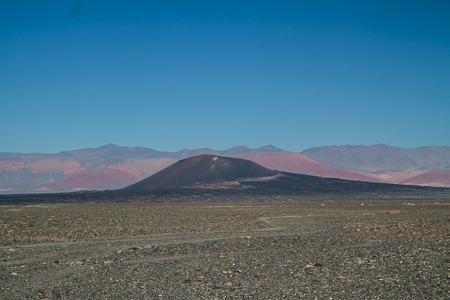Volcanic plug, Puna Catamarqueña, Pumice fields