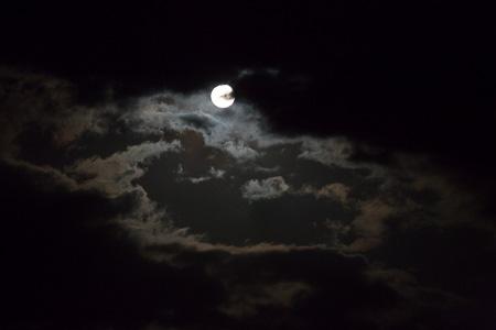 Moonrise over the Turmi Desert