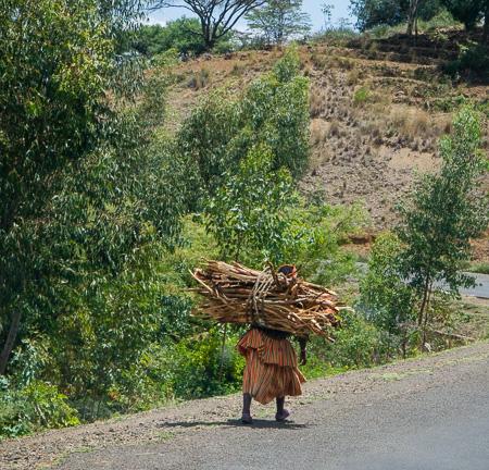 Hamar woman carrying