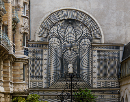 Wrought iron folly