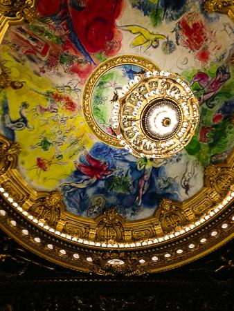Chagall ceiling - Opéra Garnier