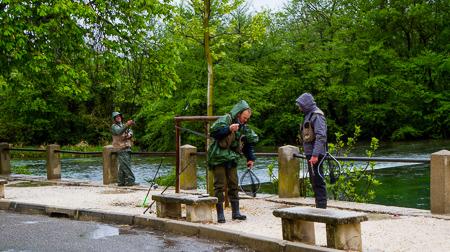 Fishers at L'Isle sur La Sorgue