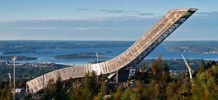 Holmenkolen ski jump, Oslo