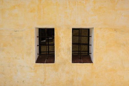 Oaxaca wall and windows