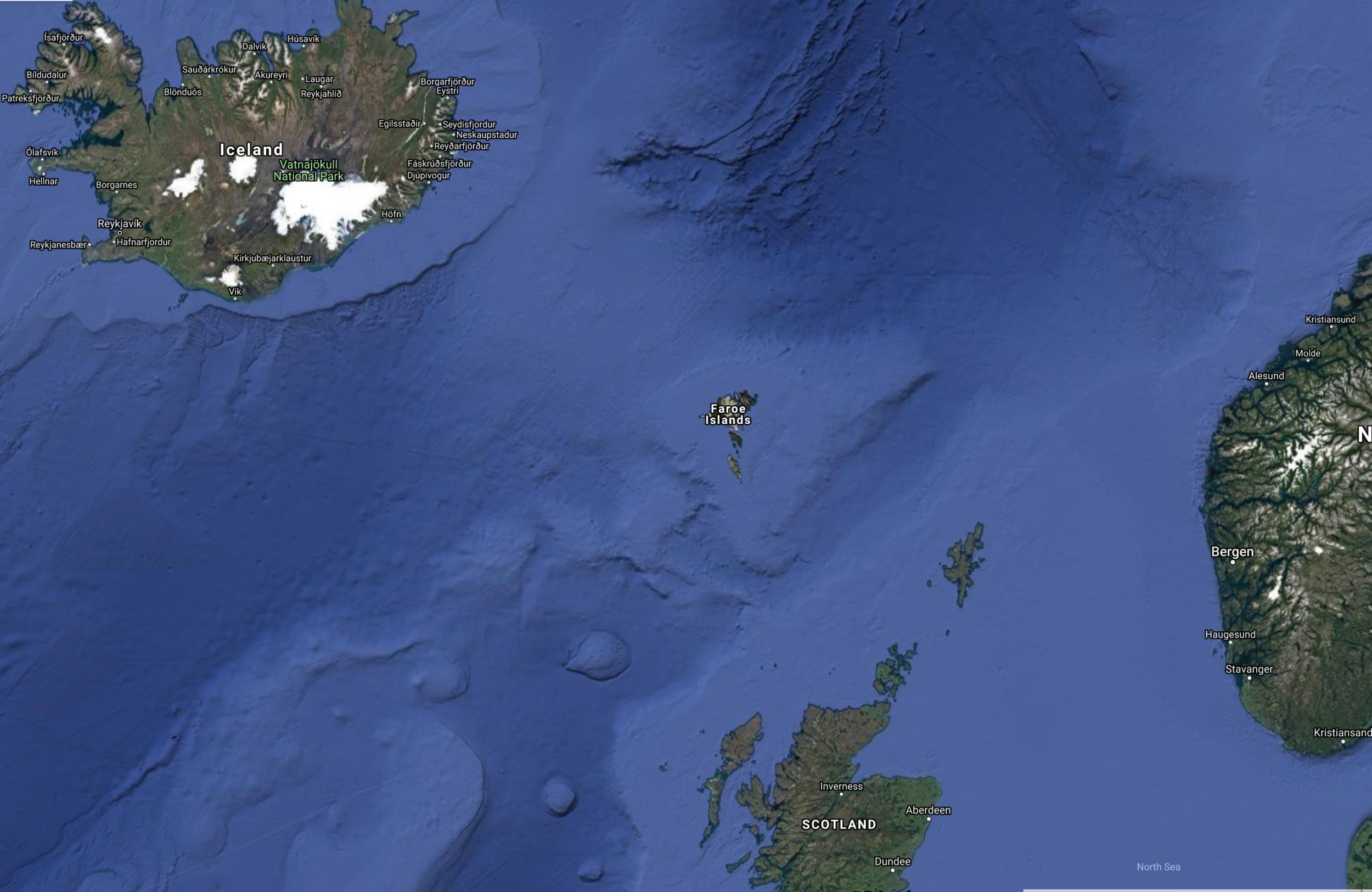 The Shetlands and the Orkneys are the two little groups of islands to the north of Scotland