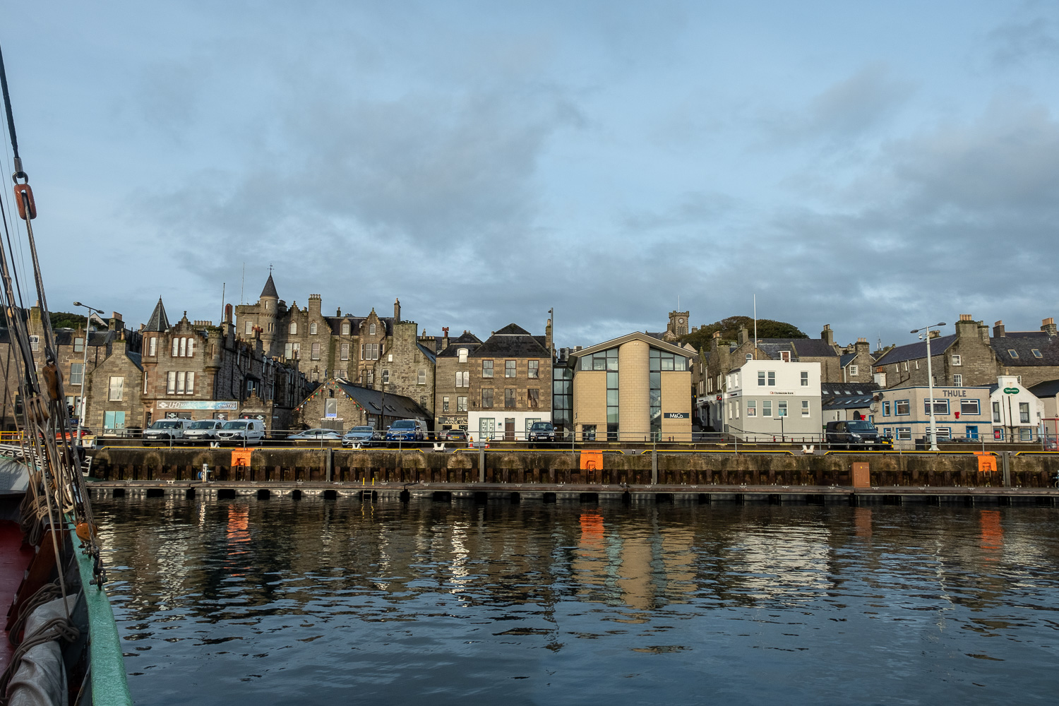 Lerwick Harbour, Shetlands