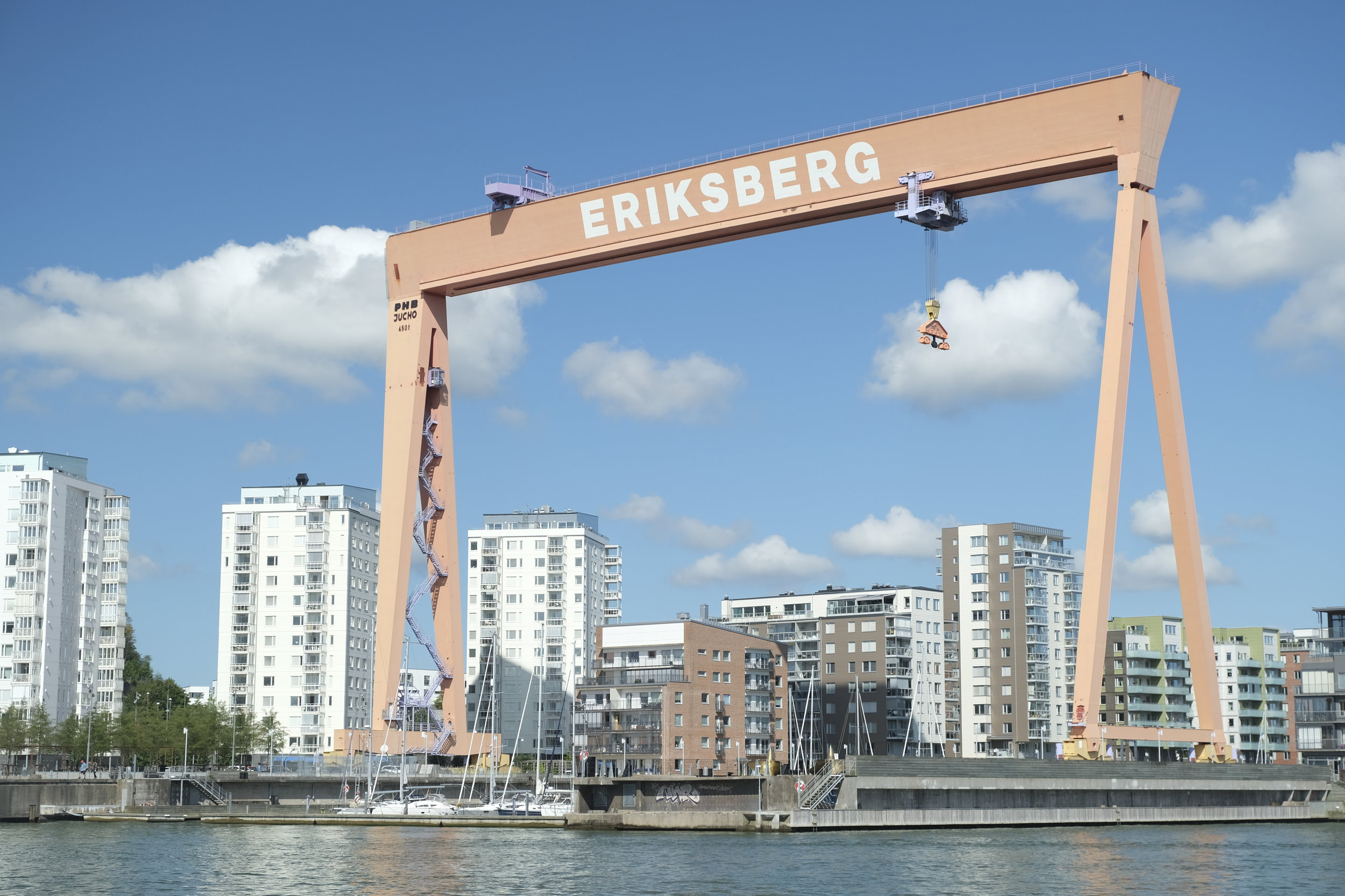 Gothenburg dry dock welcomes you to the city