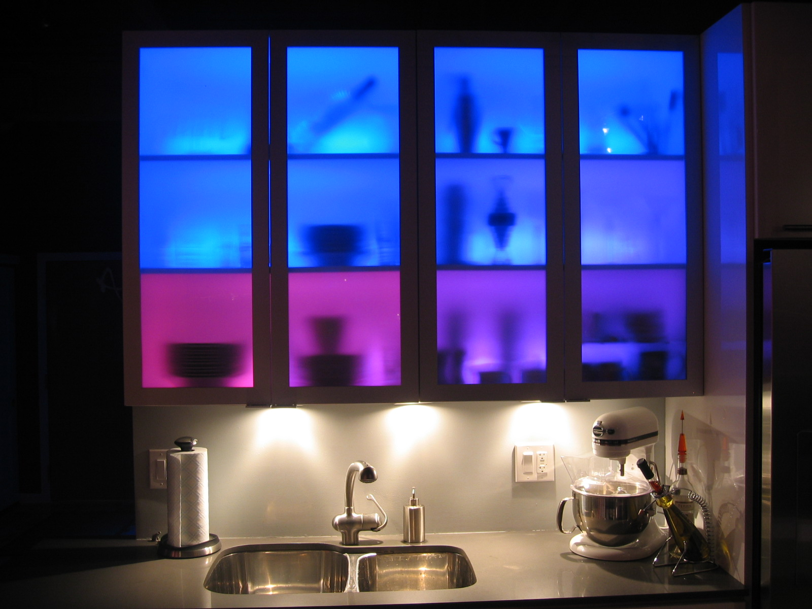 Lighted Cabinets