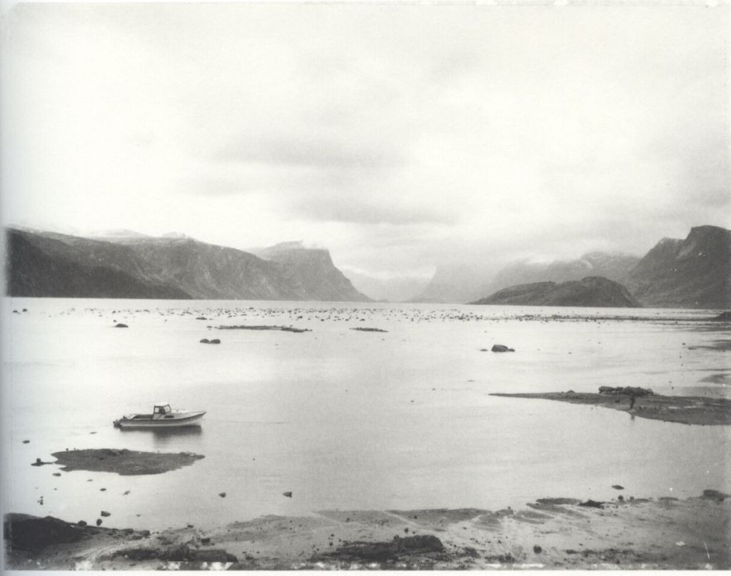 """""""Pangnirtung Harbour"""" by Robert Frank from the book  Pangnirtung ."""
