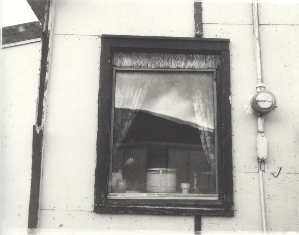 """""""Inuit Home"""" by Robert Frank from the book  Pangnirtung ."""
