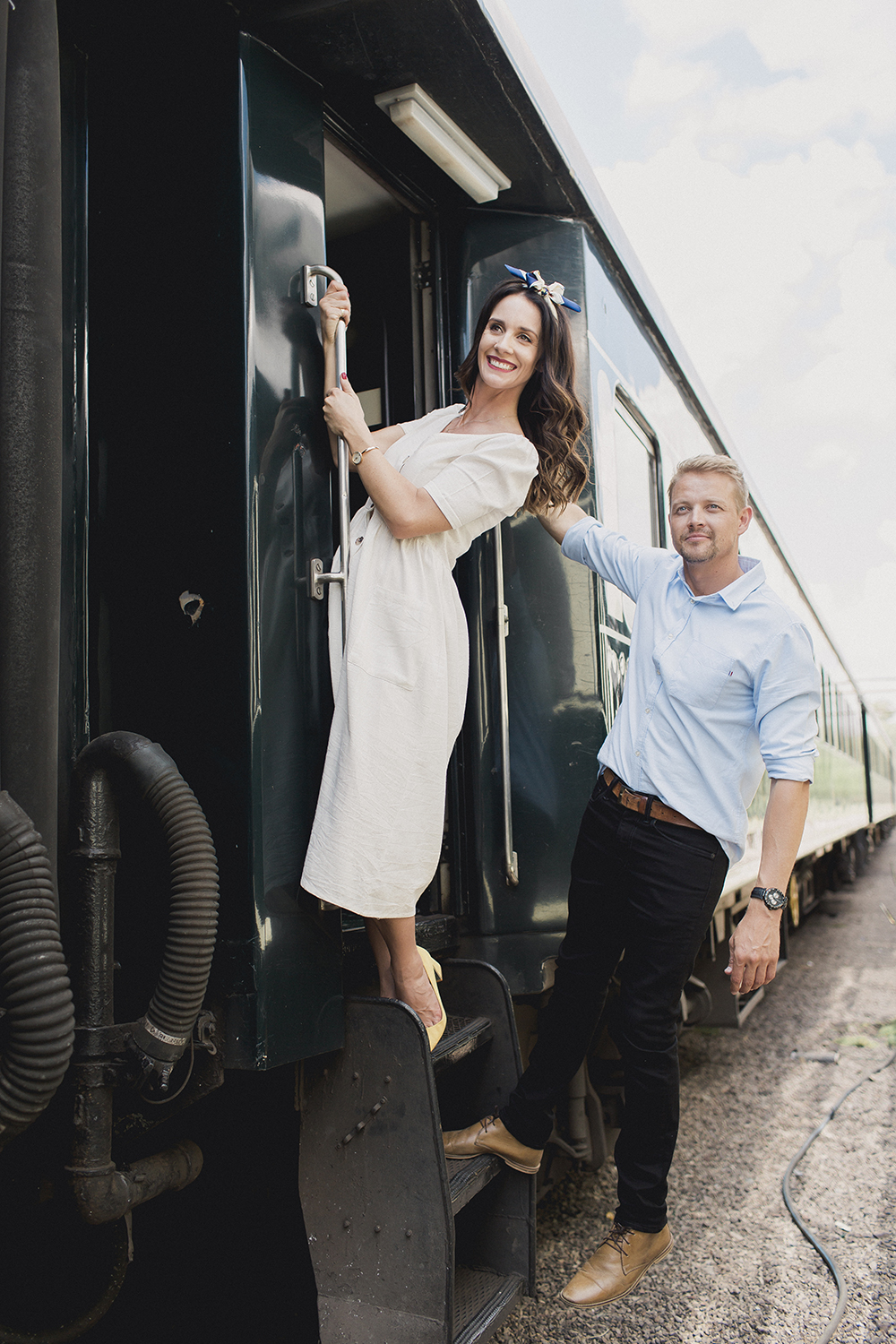 Ivan & Donnalee Journey with Rovos Rail