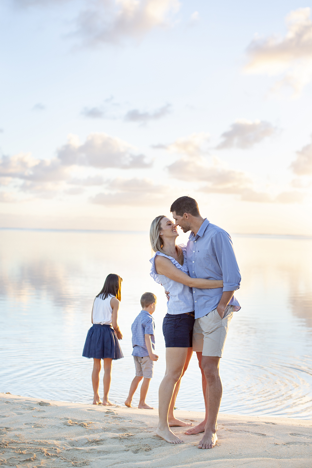 Destination Fine Art Family Photosession Photoshoot in Mauritius