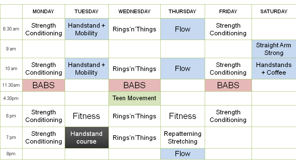 am fitness timetable May 2017.png