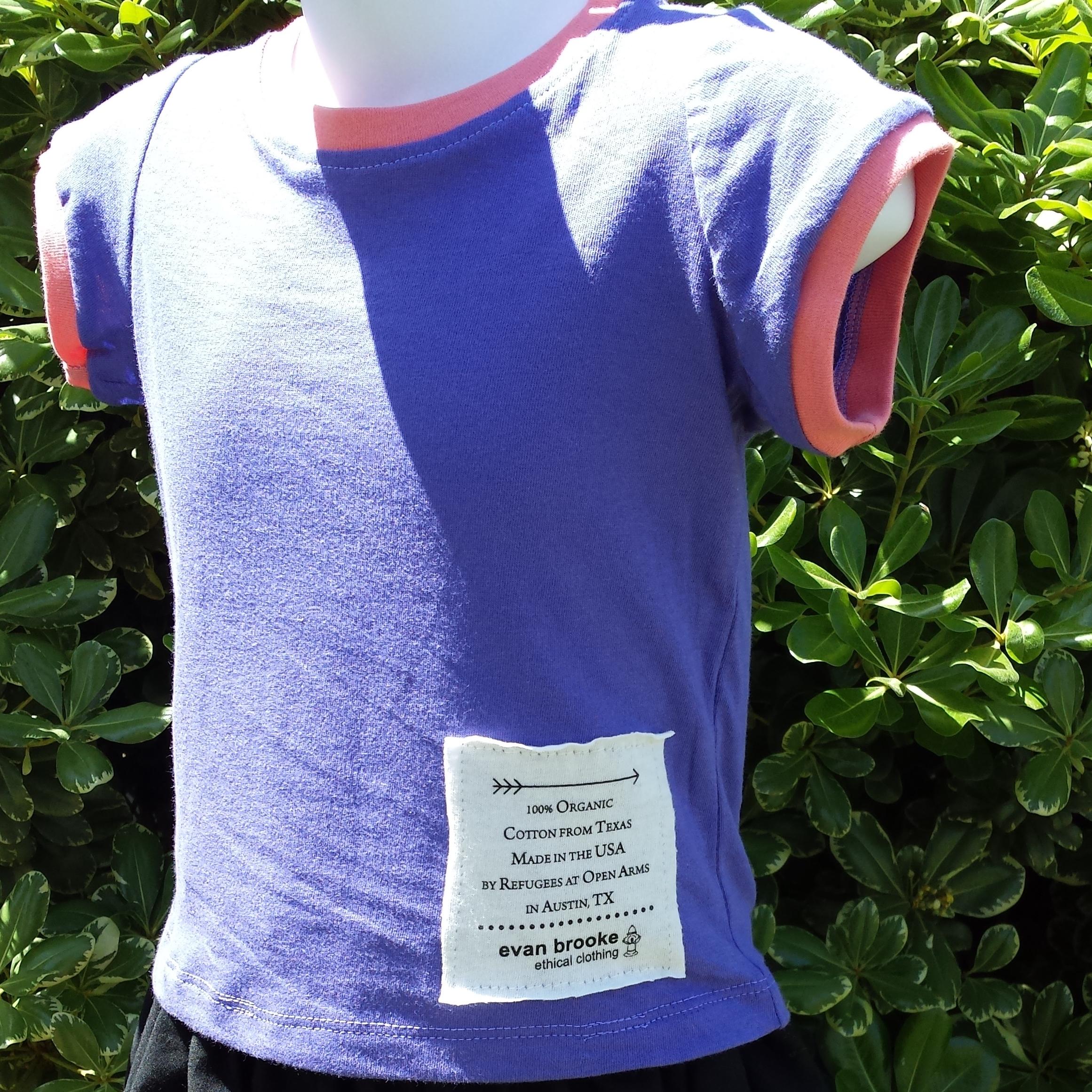 texas grown and sewn shirt organic cotton