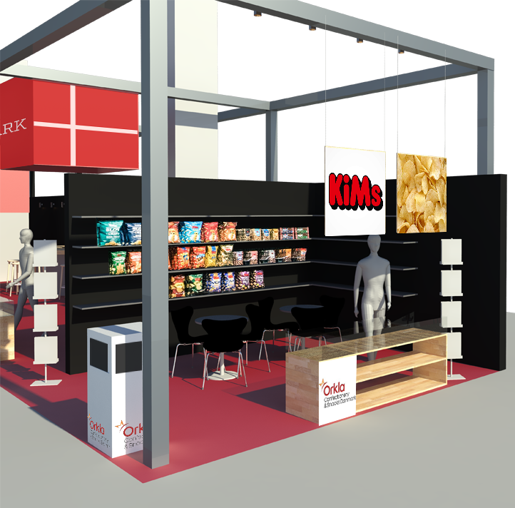 ISM Messestand, 2019