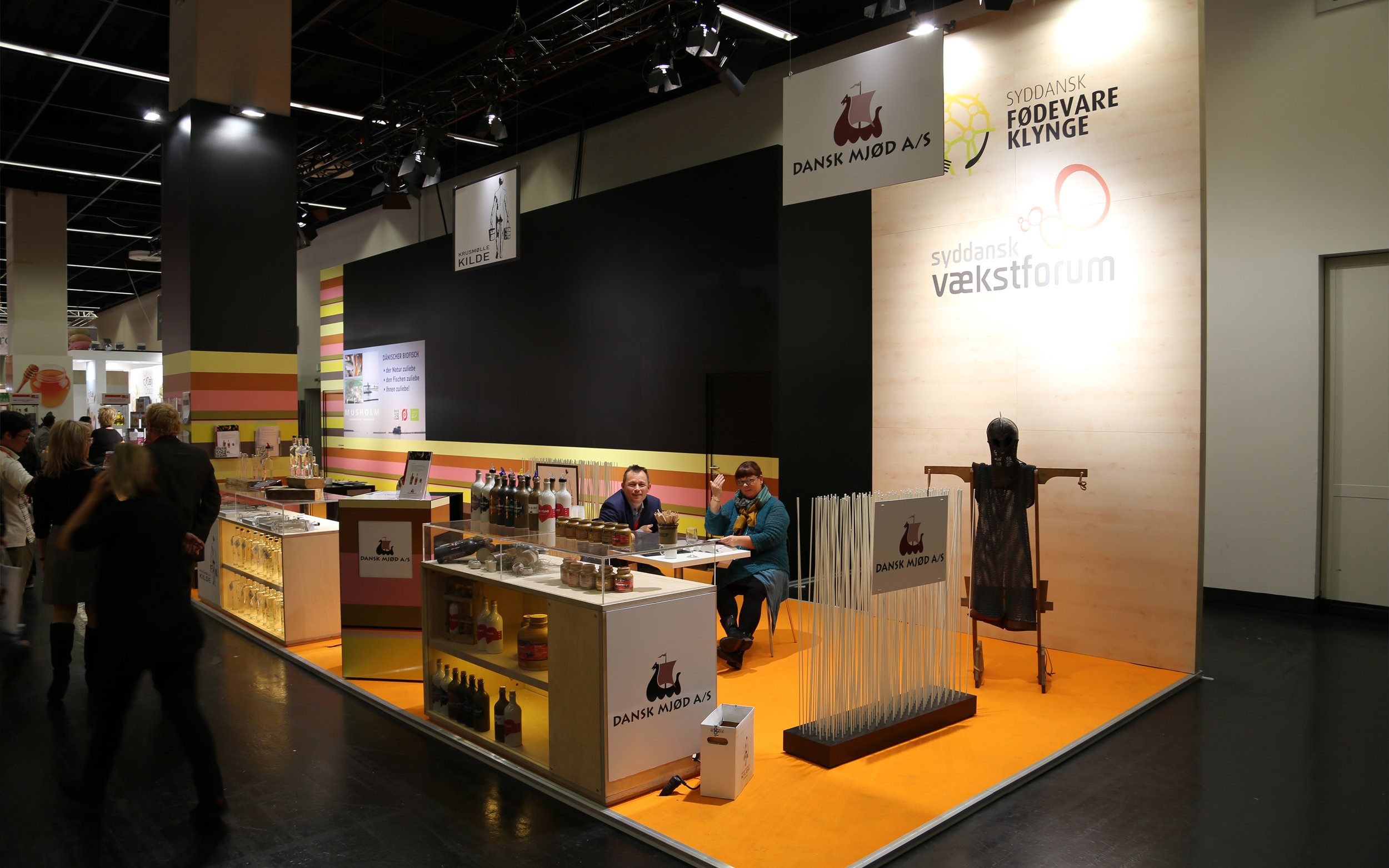 Anuga Messestand, 2013