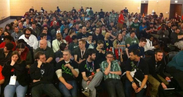 Running events at PAX-East 2011 in Boston.
