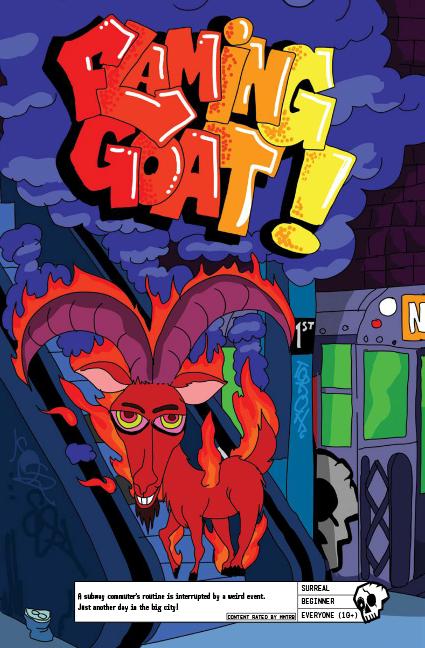Flaming Goat!