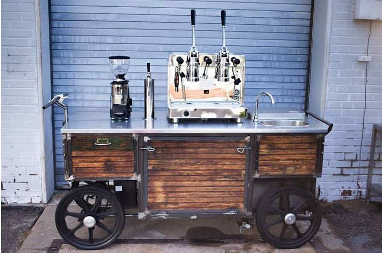 mobile coffee cart living room coffee & kitchen