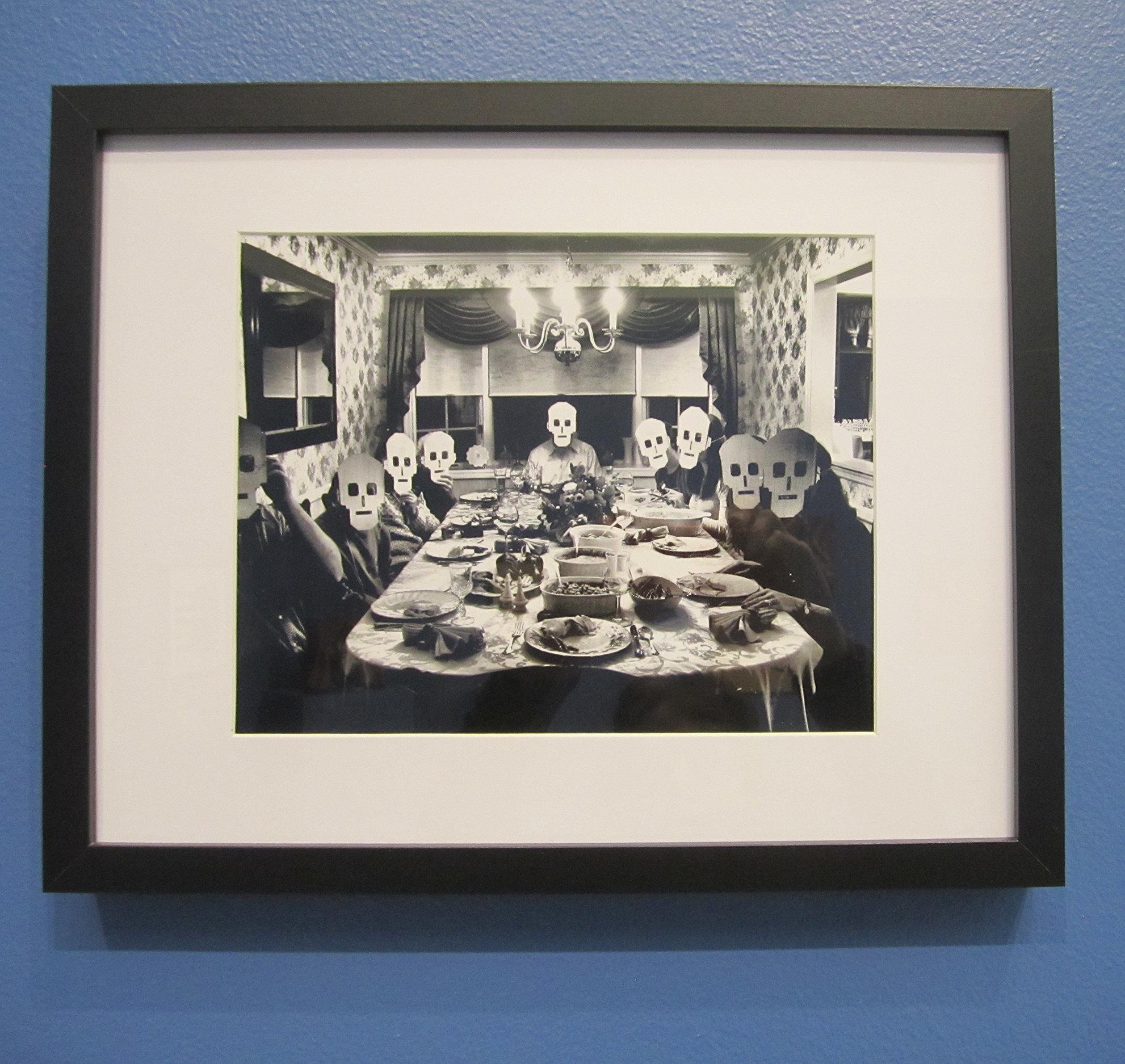 Blair Rohan,  Family Dinner,  Digital photograph