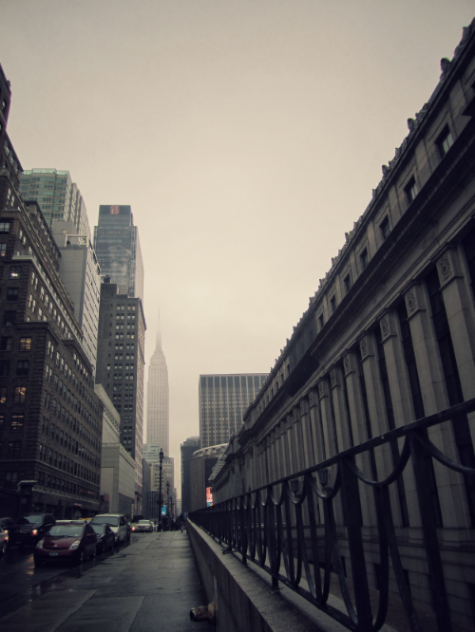 Rainy day in Manhattan