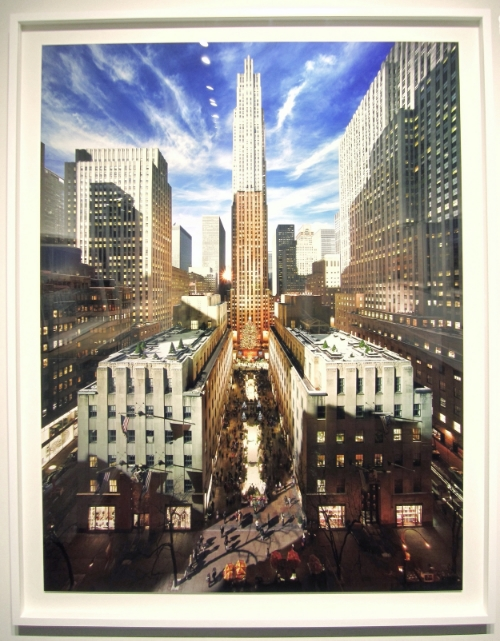 STEPHEN WILKES Rockefeller Center, New York City (from the series Day to Night), 2013