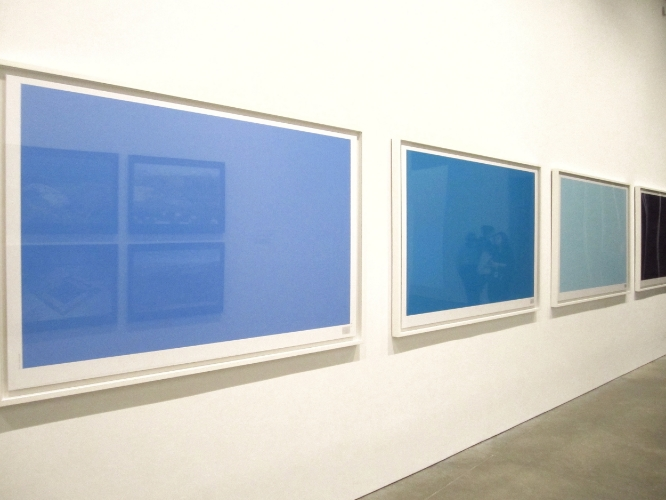 Walid Raad,  Secrets of the   open sea,  installation view