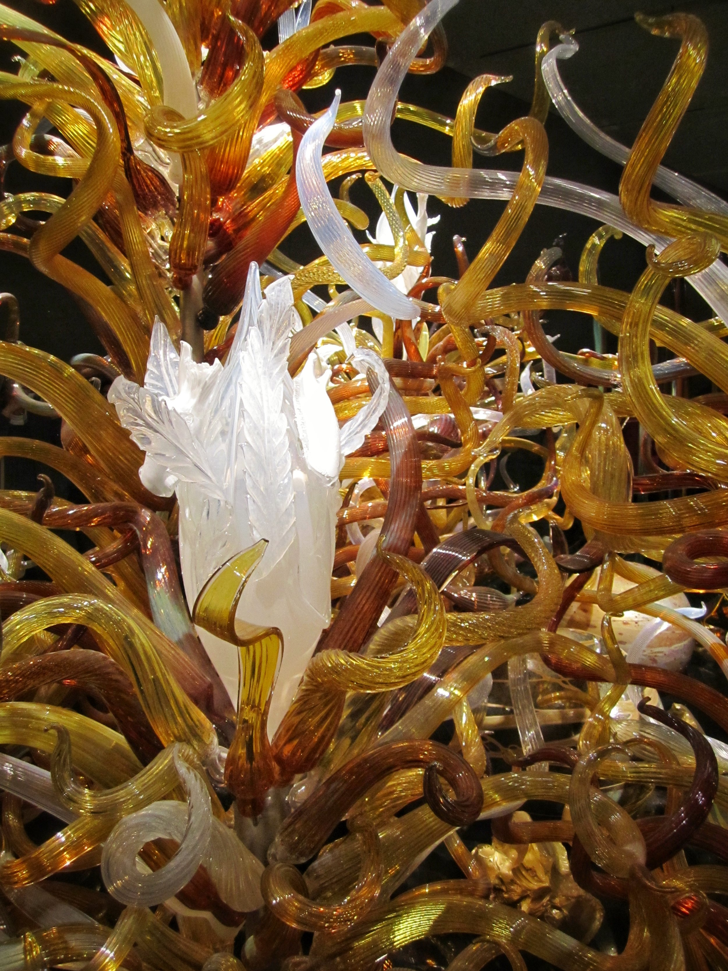 Another view of Chihuly's  Laguna Torcello  installation
