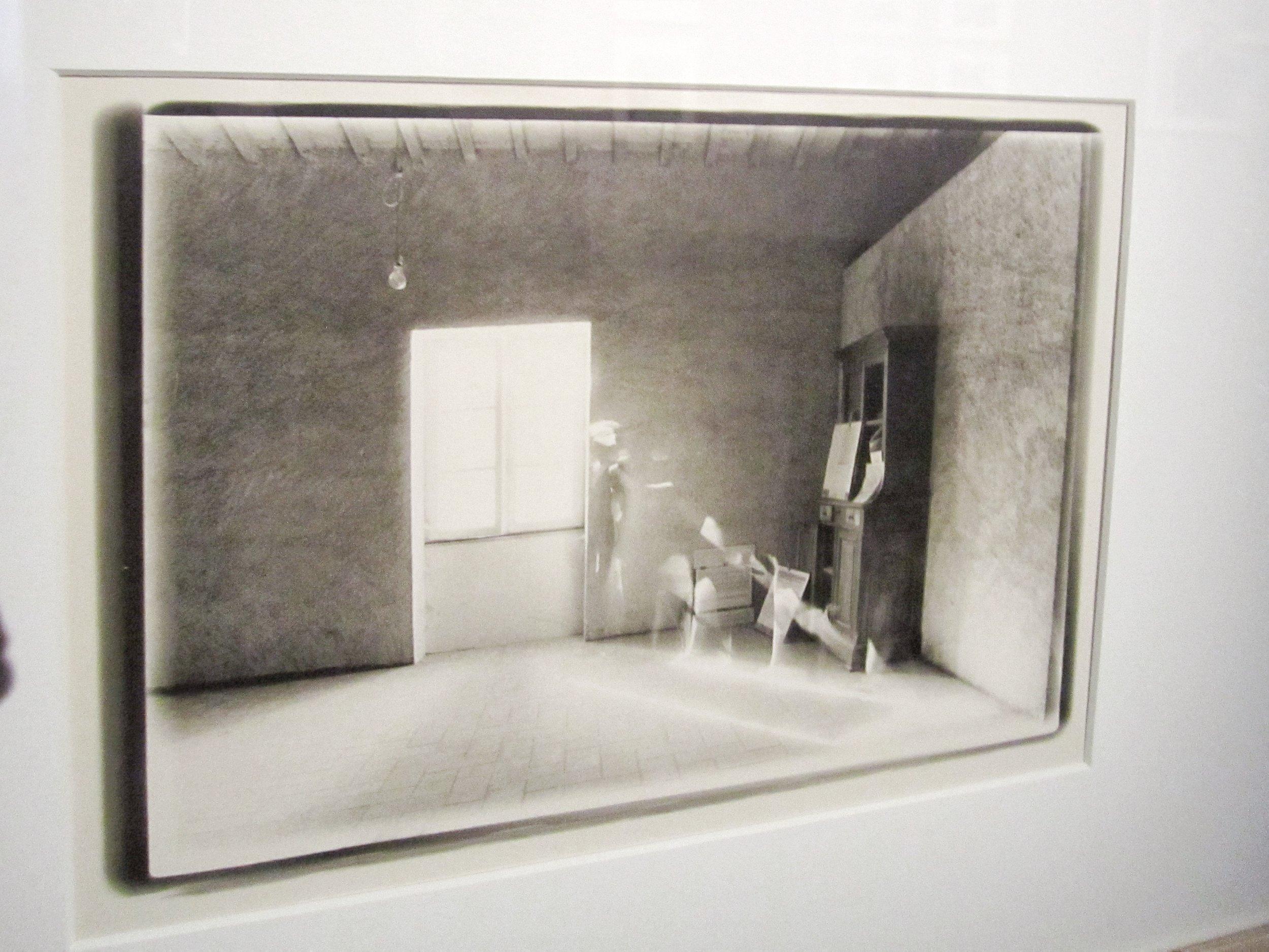 Alix Cléo Roubaud, Si quelque chose noir  series, 7 gelatin silver prints, 1980.