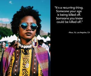 Portrait by Melissa Bunni Elian, from  afropunk x ferguson