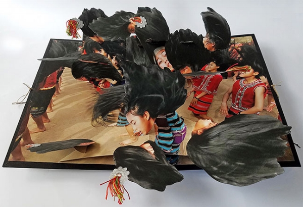 Colette Fu,  Wa Hair Swinging Dance , from  We are Tiger Dragon People  series.