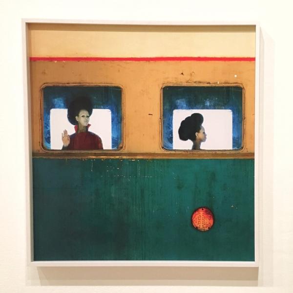 Aïda Muluneh (Ethiopian, born 1974),  The Departure  ,  2016. Pigmented inkjet print.
