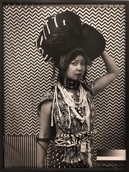 Stephanie Syjuco (American, born 1974),  Cargo Cults: Head Bundle,  2013-16. Pigmented inkjet print.