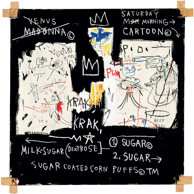 Jean-Michel Basquiat, A Panel of Experts (1982)